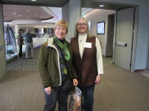 DWN 2016 - Kathy Widin with Conference Chair Julia Vanatta, IMG_3466
