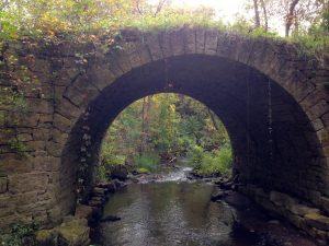 Karen Richman, Brown's Creek- Stone Arch Bridge (2014)